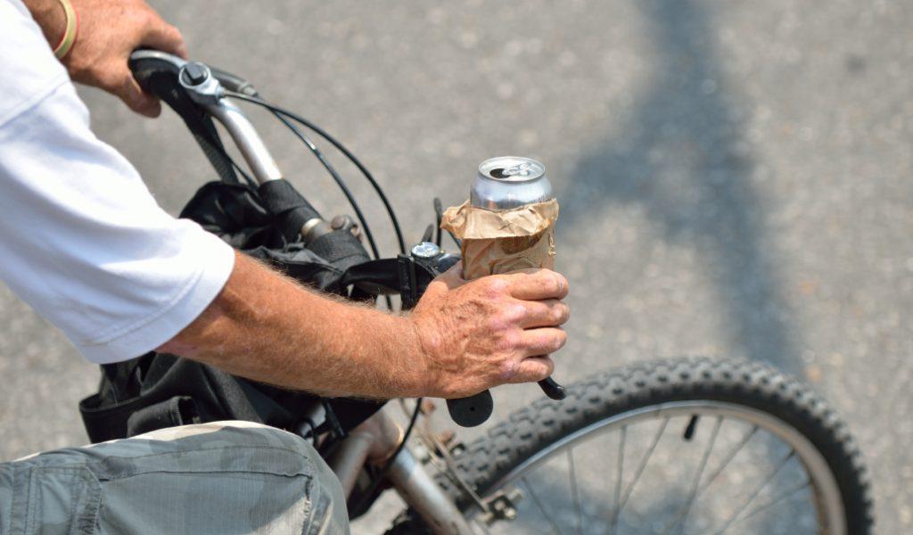 Ubriaco in bicicletta
